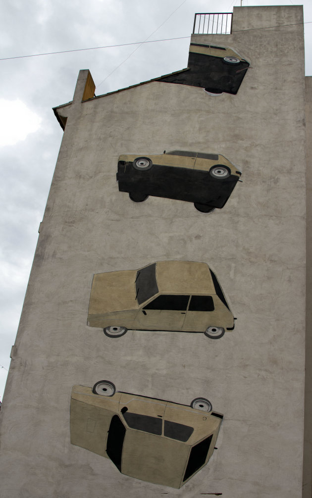 Street art route Valencia