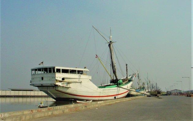 De oude haven Jakarta.