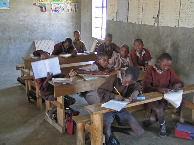 Masai school , Masai Mara , Kenia
