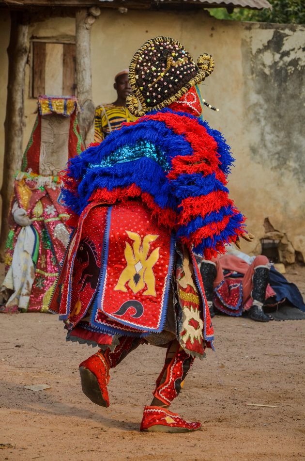 Dans als een vogel in Yoruba-land