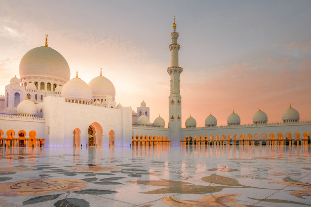 De Sheikh Zayed moskee