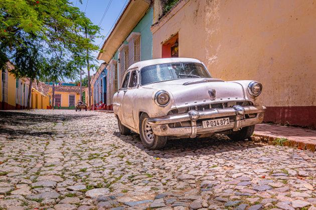 Old Chevy in Trinidad