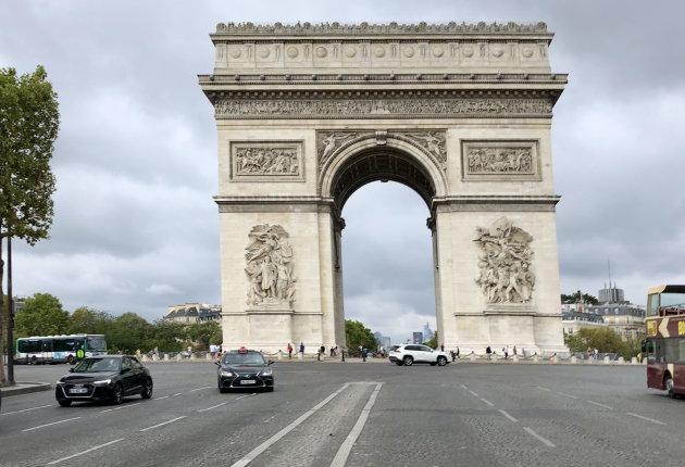Rust rond de Arc de Triomphe