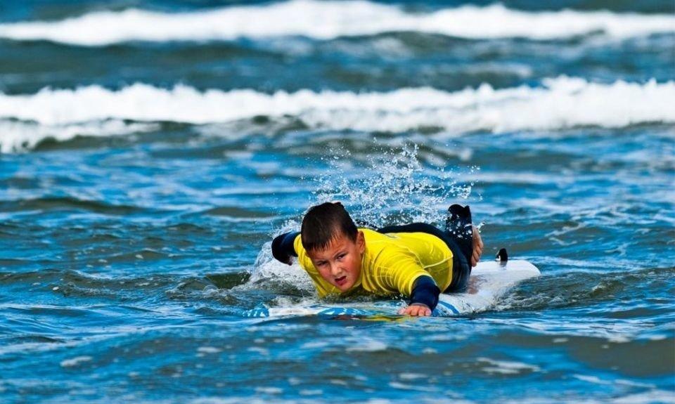 surfen vader zoon Nederland