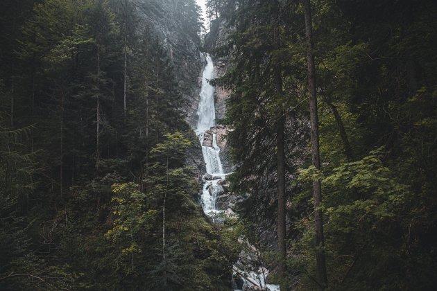 Martuljek watervallen.