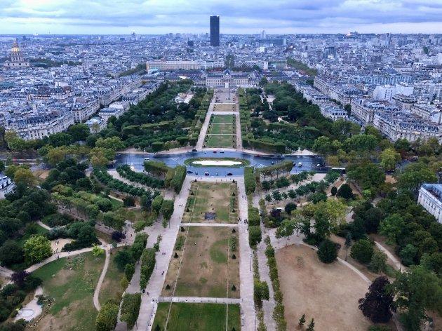 Uitzicht op Parijs