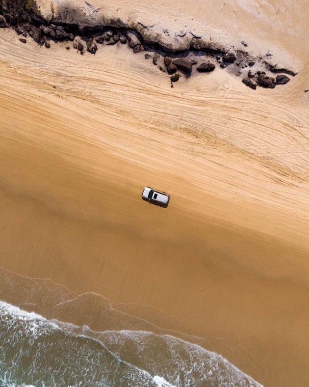 Waar alle stranden doorgaande wegen zijn