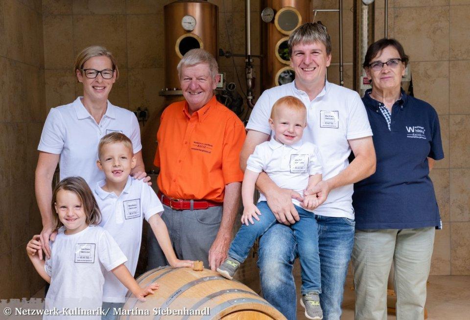 De familie Kausl maakt de lekkerste producten van abrikozen. © Netzwerk-Kulinarik/ Martina Siebenhandl
