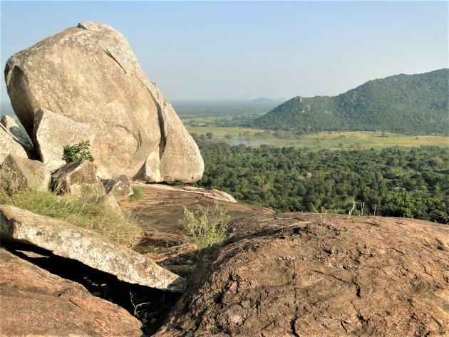 Uitzicht vanaf de Rots van Mahinda.