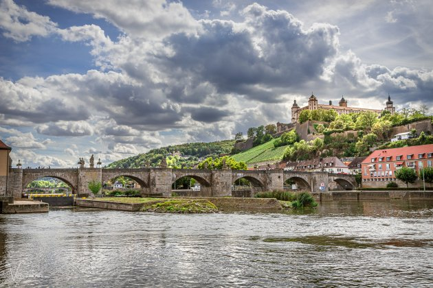 Het kasteel van Würzburg