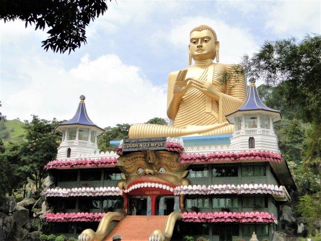 Gouden Tempel van Dambulla.