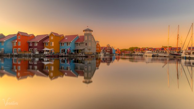 Reitdiephaven by Sunset
