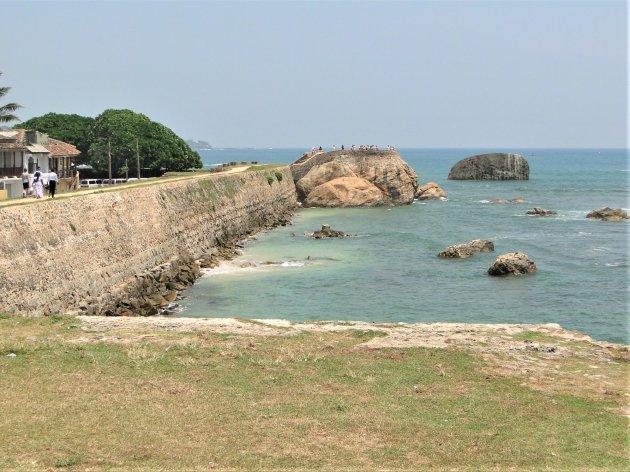 Vesting wallen van fort Galle.