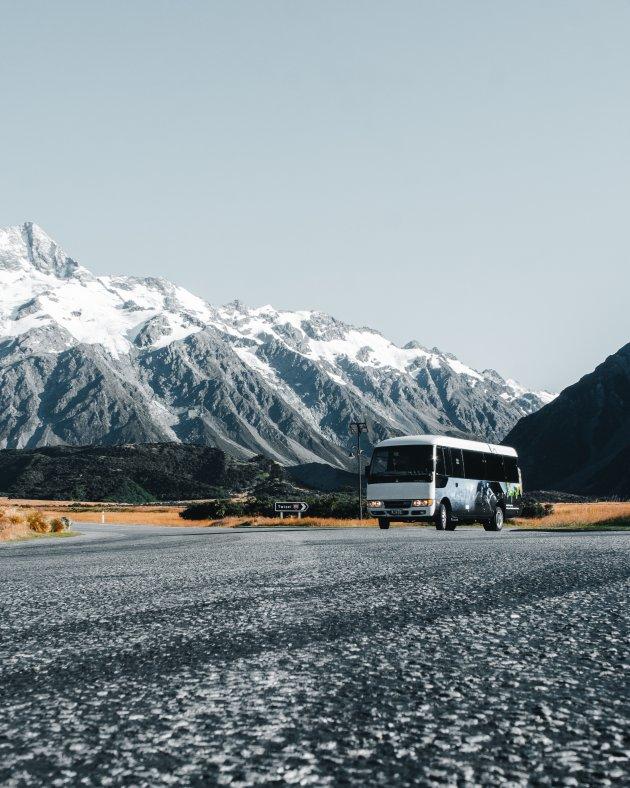 Touren bij Mount Cook