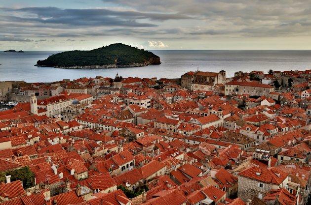 Dubrovnik en het eilandje Lokrum