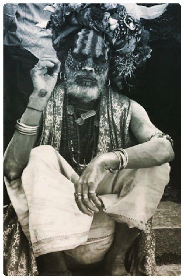 Shiva saddhu Pashupati