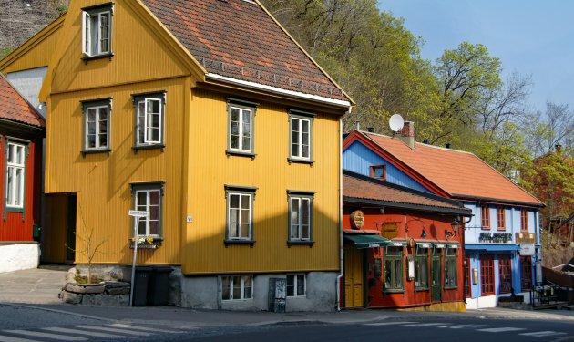 Noorwegen staat op geel of oranje?