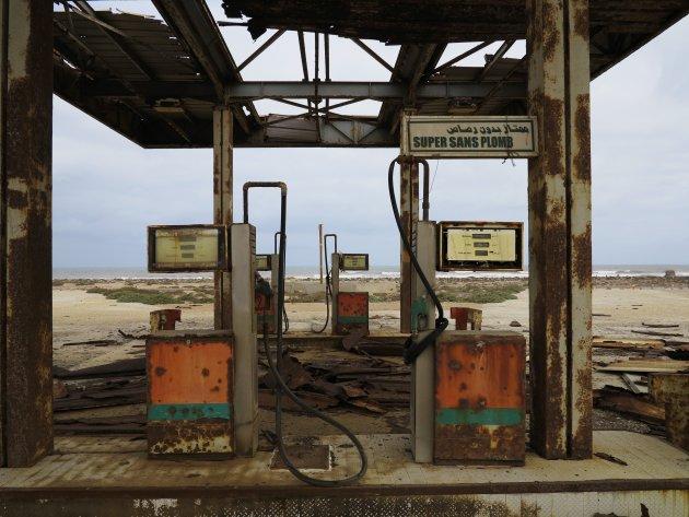 Tankstation, Sidi Ifni, Marokko