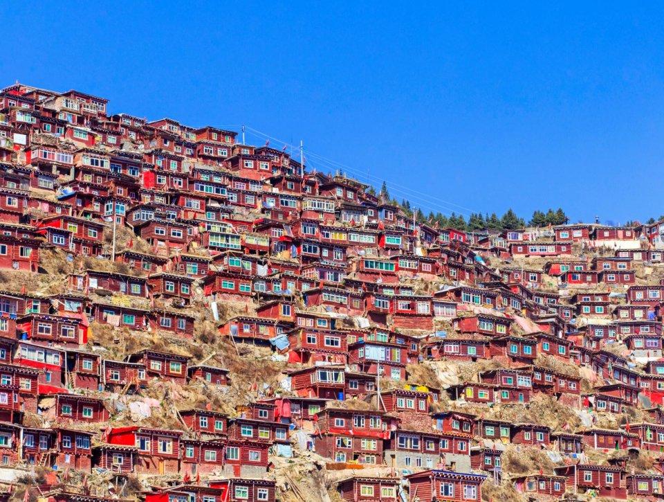 Larung Gar, China. Foto: iStock