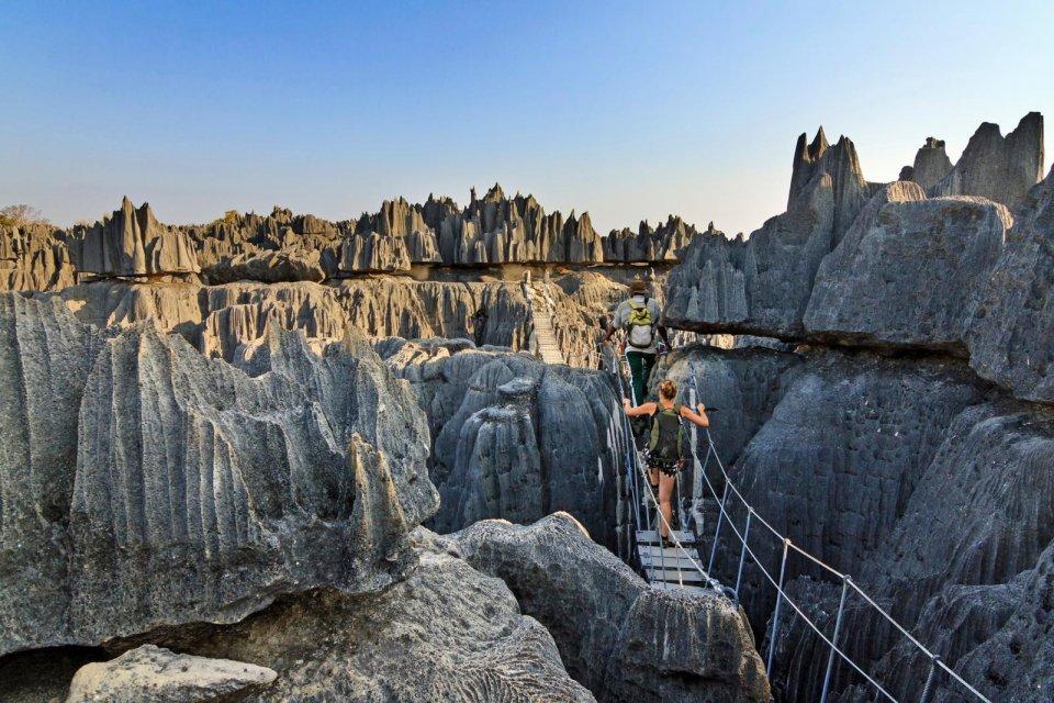 Tsingy de Bemaraha, Madagaskar. Foto: Dennis vdw