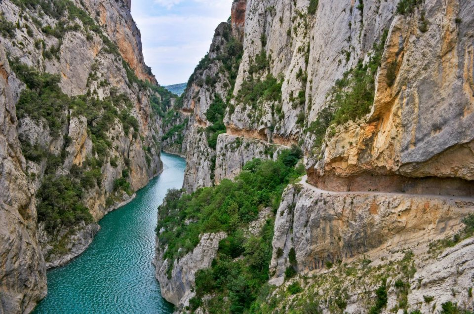 Congost de Mont Rebei, Spanje. Foto: Elikova Oksana