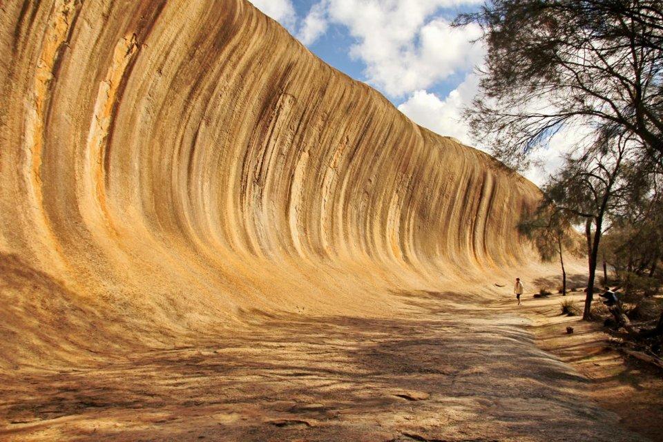 Wave Rock, Australië. Foto: Totajla