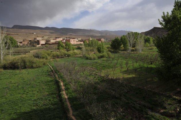 Dadès Kloof en Dadès Vallei ,Marokko