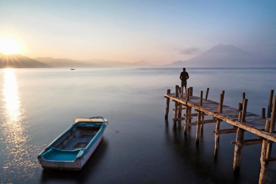 Lake Atitlan, Guatemala. Foto: Tim Bilman