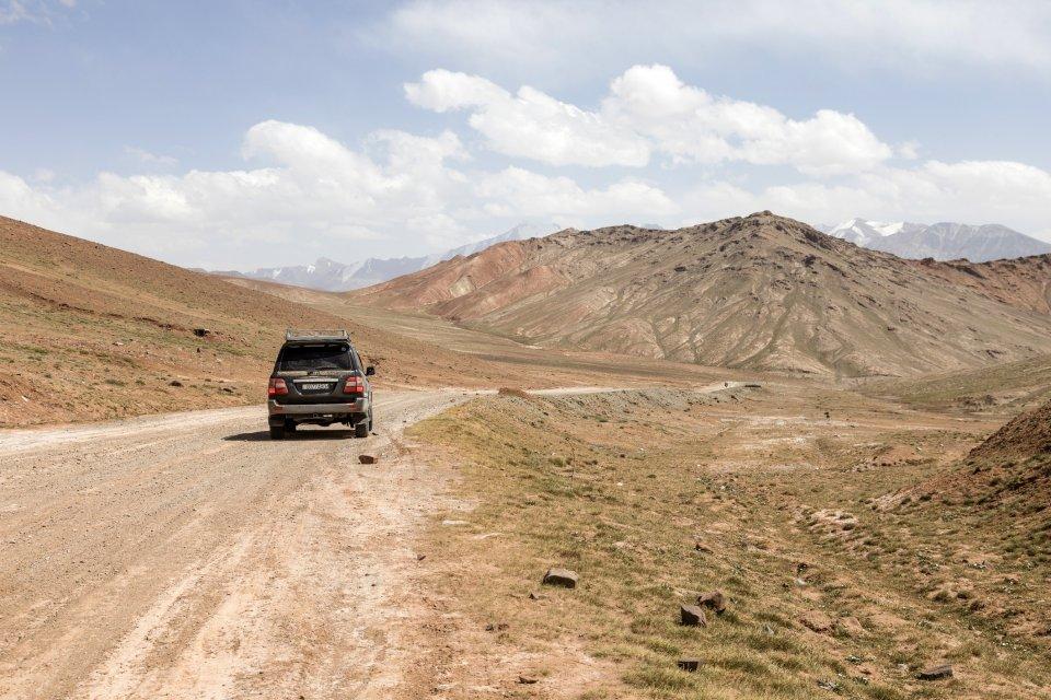 Pamir Highway, Tadjikistan. Foto: Frizi