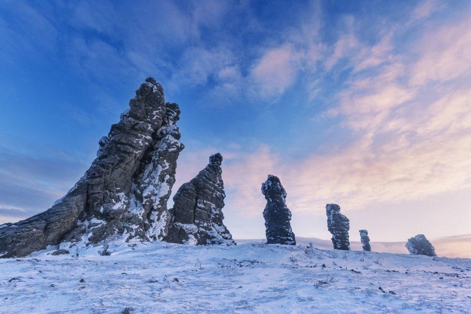 Manpupuner, Rusland