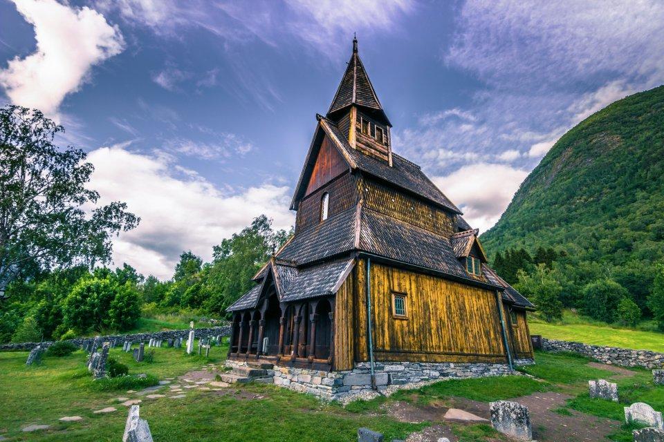 Staafkerk, Urnes Noorwegen. Foto: iStock