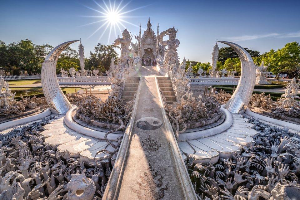 Wat Rong Khun, Thailand. Foto: iStock