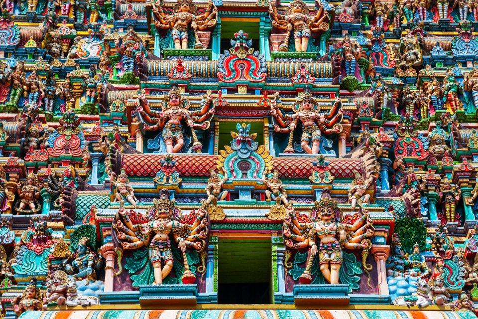 Meenakhitempel, Madurai India. Foto: iStock