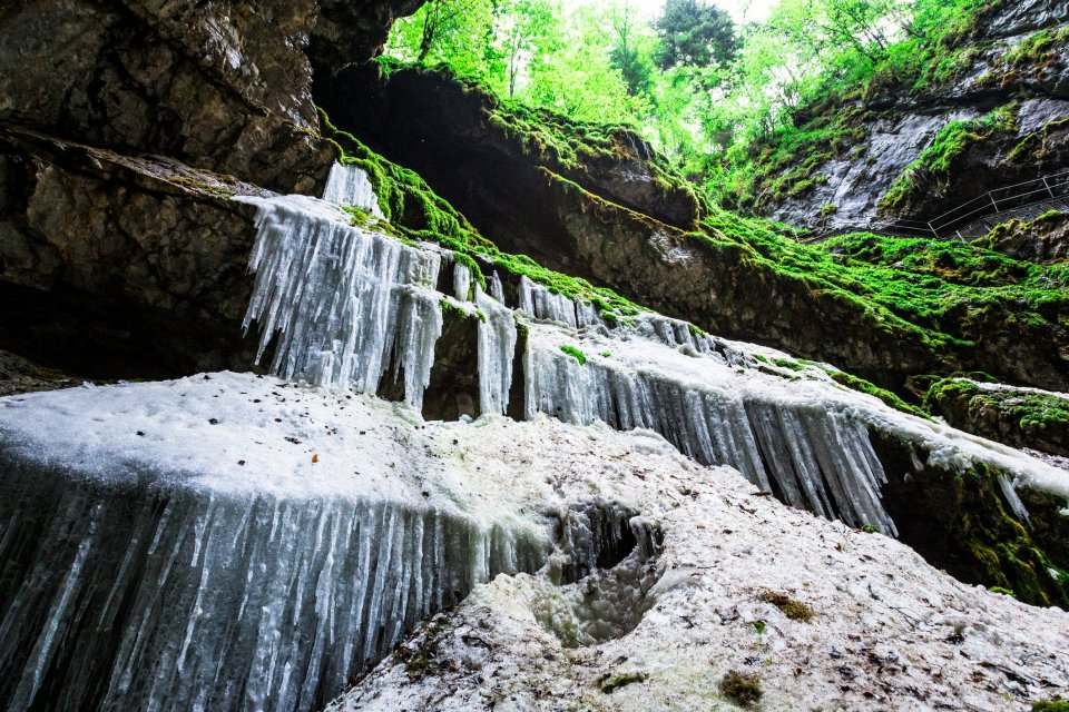 Scărișoara ijsgrot, Roemenie. Foto: iStock