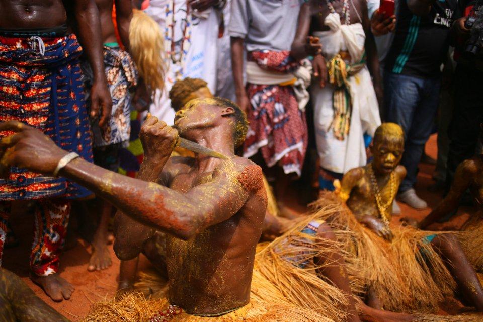 Voodoofestival, Benin. Foto: Gabriel Sarabando/ iStock