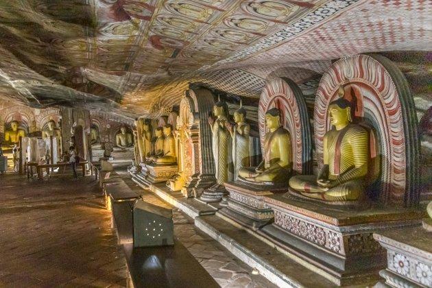Rots-tempel van Dambulla