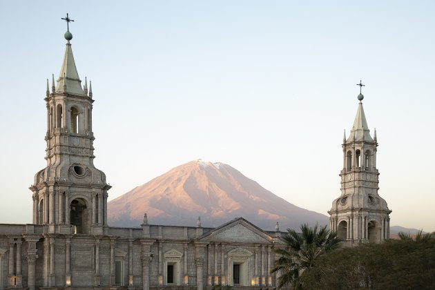 Peru Arequipa Plaza des Armas