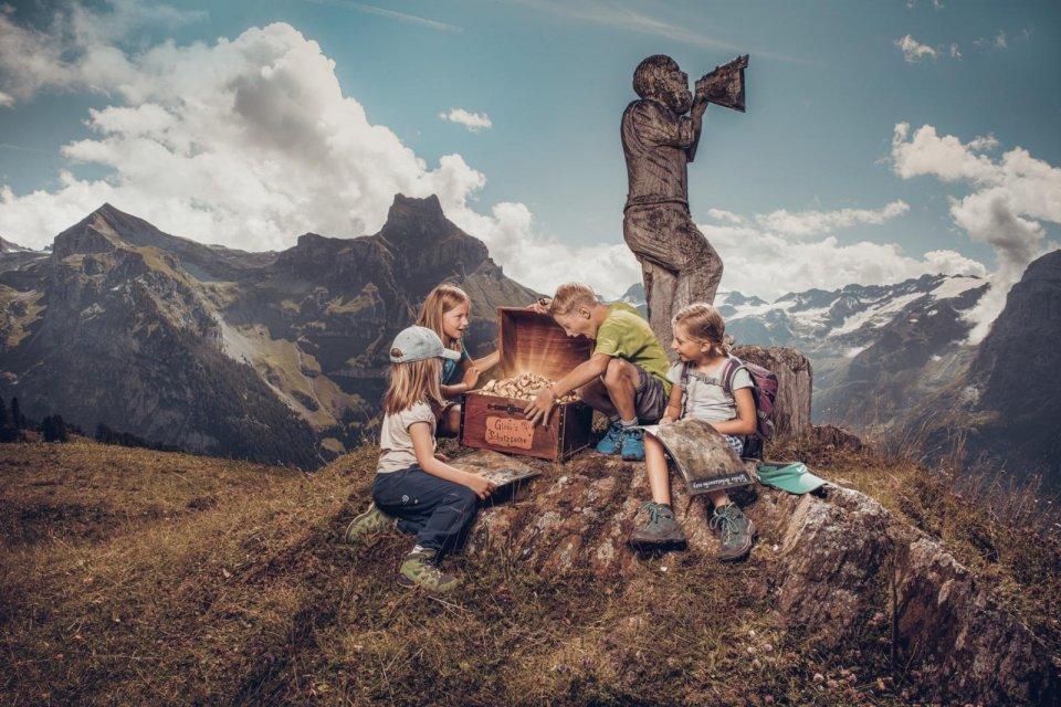 Zoek goud in het Wilde Westen van Zwitserland.
