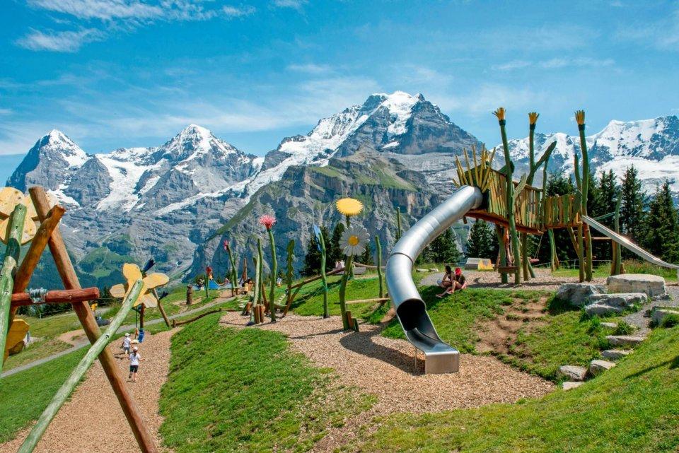 Flowerpark in Zwitserland CREDIT Schilthornbahn