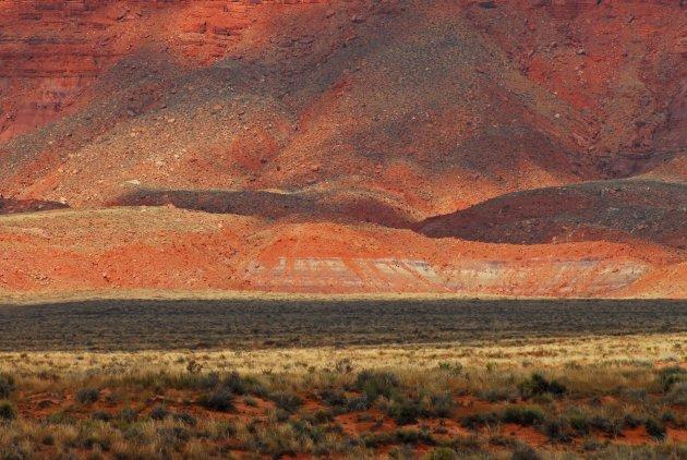 Landschap in Arizona Verenigde Staten