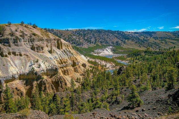 Yellowstone en zijn Rivier