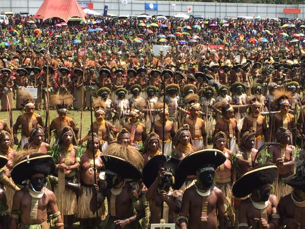 Papua Nieuw Guinea Engafestival