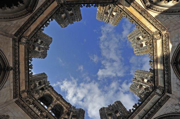 De Capelas Imperfeitas in het Klooster van Batalha