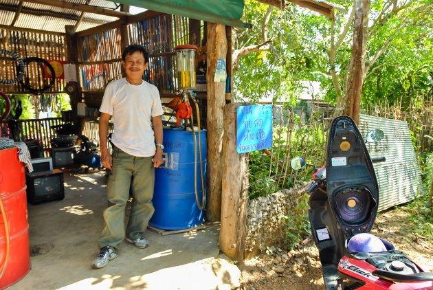 Lokaal tankstation