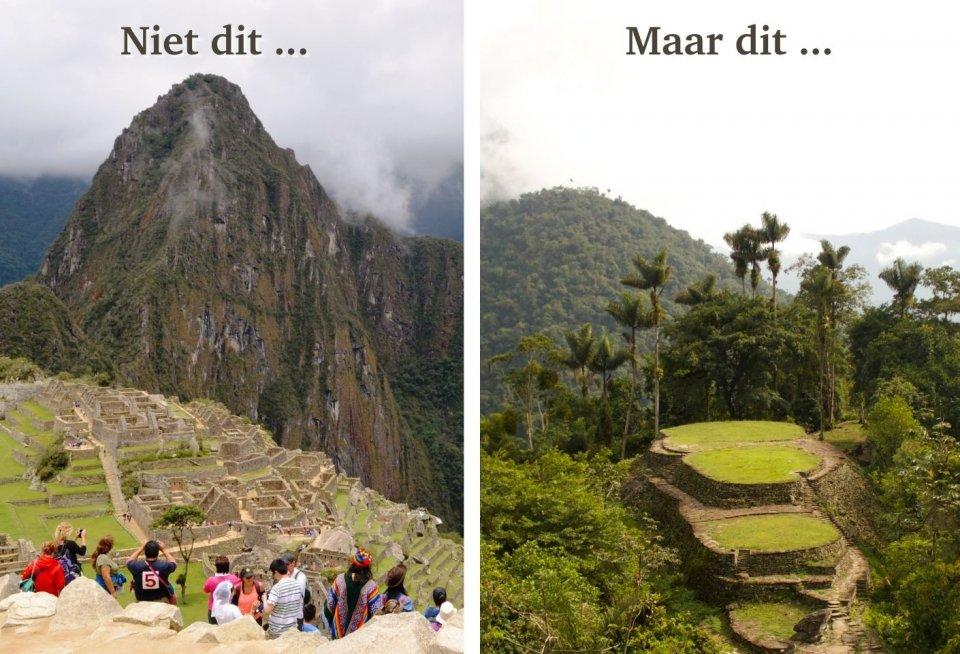 Machu Picchu, Peru versus La Ciudad Perdida, Colombia