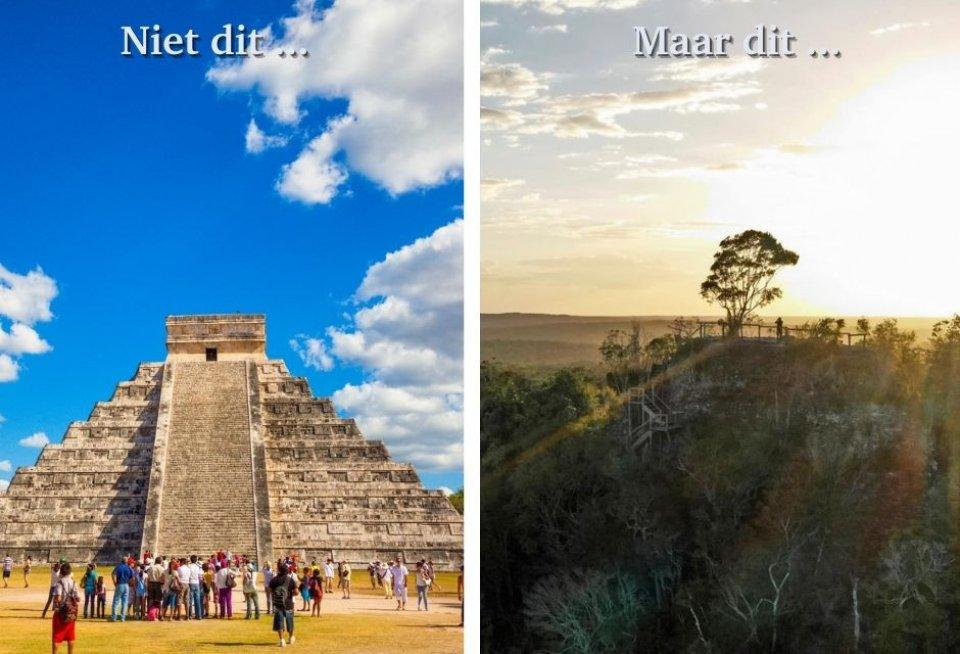 Chichen Itza, Mexico versus El Mirador, Guatemala