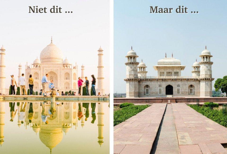 Taj Mahal, India versus Itimad ud-Daulah, India