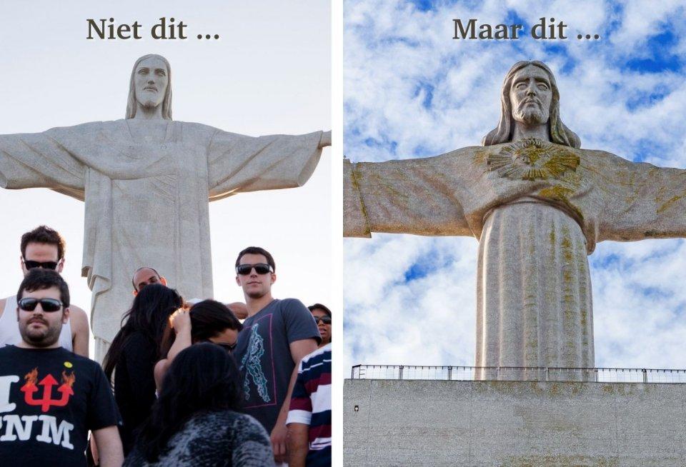Cristo Redentor, Brazilië versus Cristo Rei, Portugal