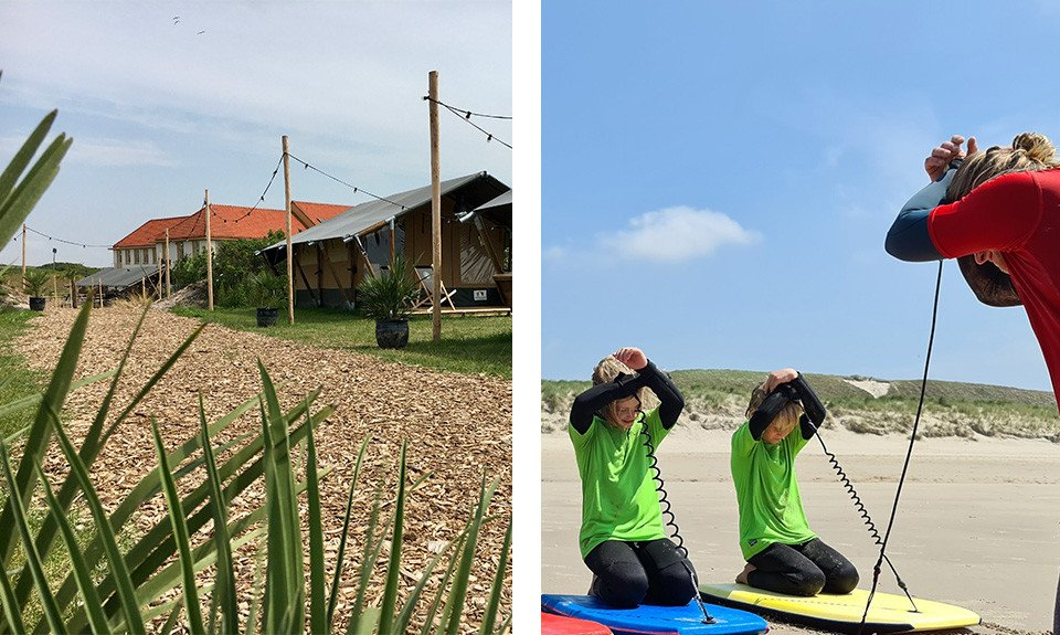 Laguna Beach Family Camps in Petten