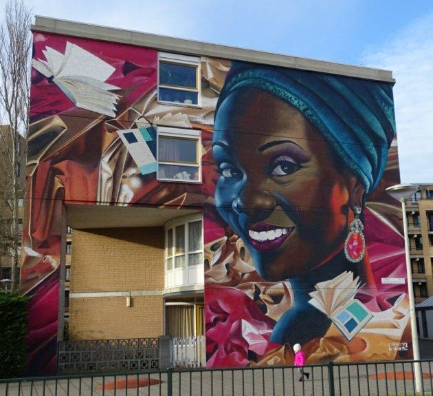 street-art Laak kwartier